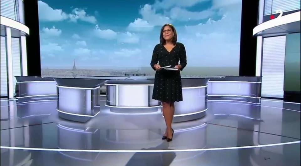 Médias : La journaliste martiniquaise Karine Baste-Régis joker du 20h de France 2