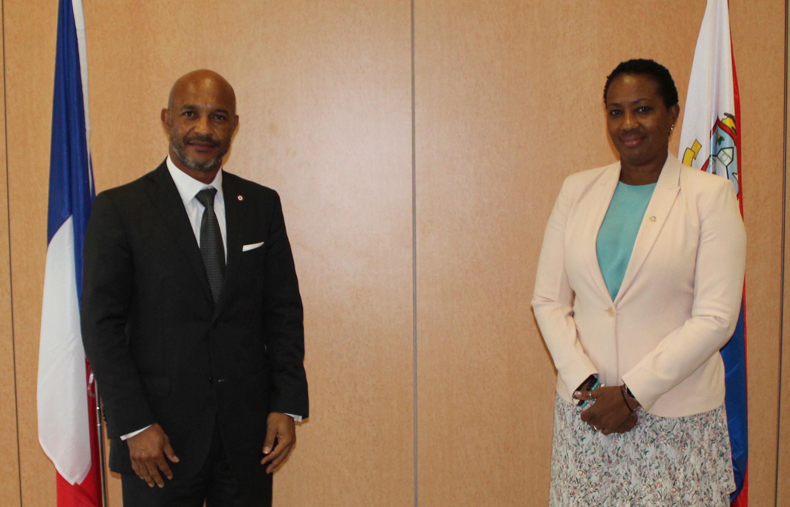 Saint-Martin : Vers un renforcement de la coopération avec Sint-Maarten