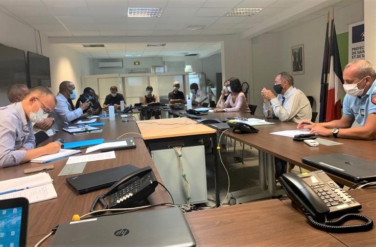 Réunion Point de situation sanitaire - Préfecture 1er sept 2020