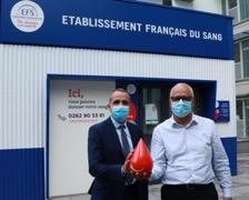 La Réunion : L'EFS et le Medef appellent les entreprises et salariés au don du sang