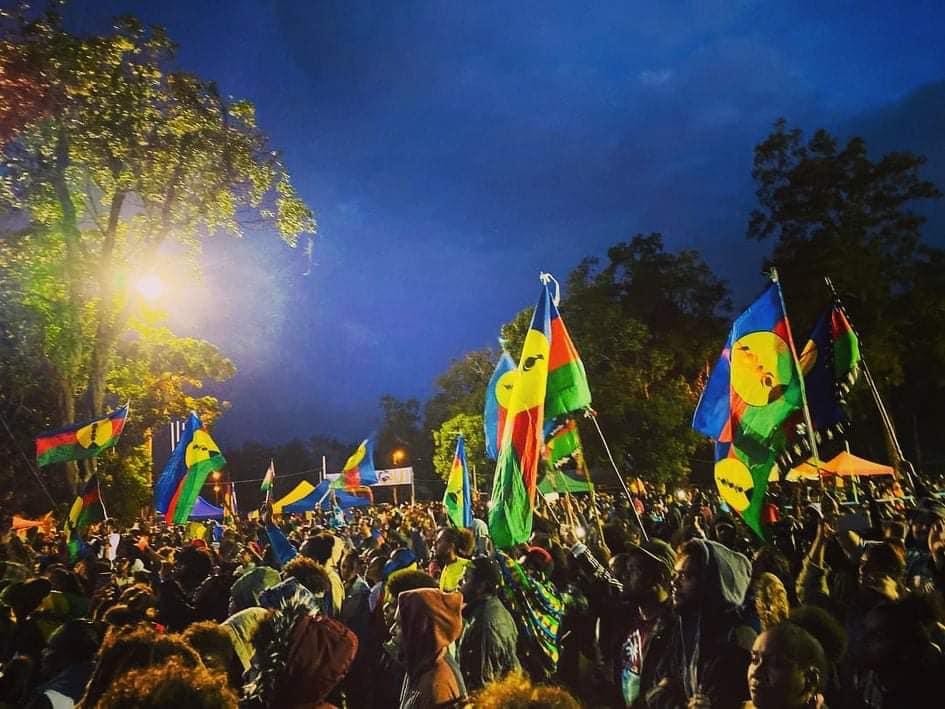 Nouvelle-Calédonie : Le FLNKS « ira au troisième référendum » pour l'indépendance