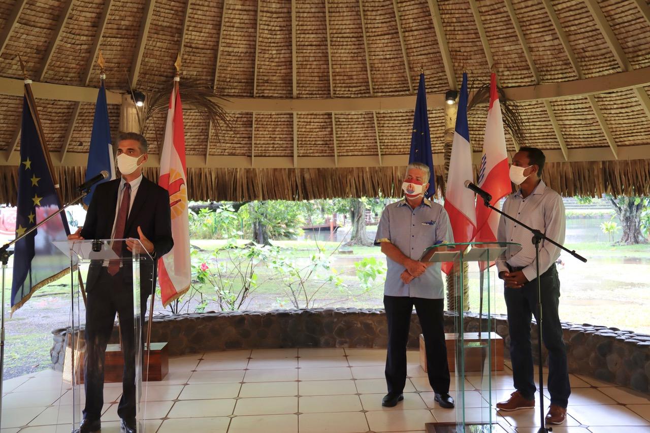 Covid-19 : En Polynésie, tour de vis sur les rassemblements après une « aggravation brutale » de l'épidémie