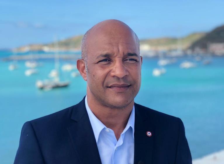 Daniel Gibbs, président de la Collectivité territoriale de Saint-Martin depuis 2017 ©DR