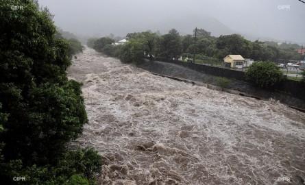 [En Images] Berguitta : Les eaux déchaînées à La Réunion