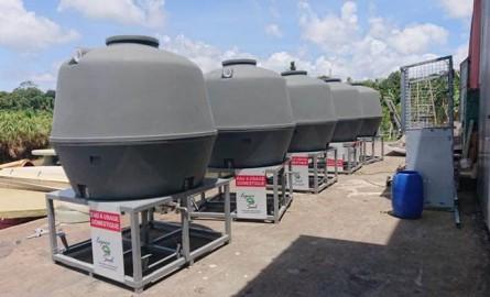 Espace Sud Martinique : des cuves pour pallier à la pénurie d'eau