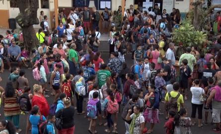 Rentrée 2017 : En Polynésie, 70 000 élèves retrouvent le chemin des classes