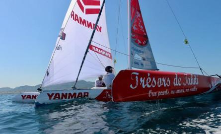 Voile : L'équipage polynésien «Trésors de Tahiti» Vice-champion de France