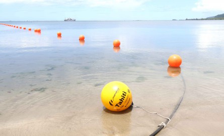 Numérique en Polynésie : Le câble international à fibre optique Manatua atterri à Tahiti