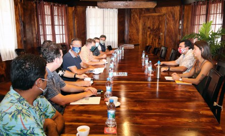 Polynésie française : Le Vice-président rencontre le French Polynesia Regional Group