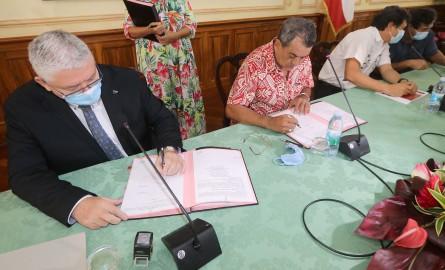 Polynésie française- Protection Sociale : Le prêt Pays de 9,6 milliards FCFP à la CPS acté par convention