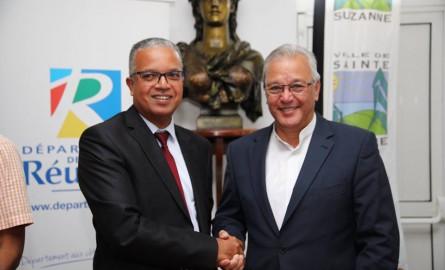 La Réunion : Le Département apporte 3,4 millions d'euros à la commune de Sainte-Suzanne