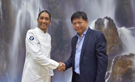 Salon international de l'Agriculture : Talents Réunion signe avec la chef Kelly Rangama pour promouvoir les produits du terroir réunionnais