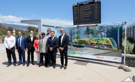 Transports Outre-mer : La Réunion sur la voie du tram