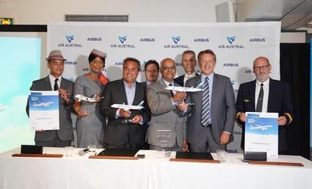 Desserte Aérienne: Air Austral étoffe sa flotte avec 3 nouveaux Airbus A220