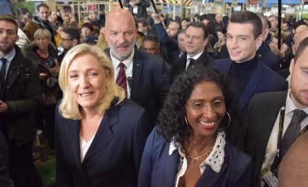 Salon international de l'Agriculture : Maxette Pirbakas et Marine Le Pen en visite aux Outre-mer