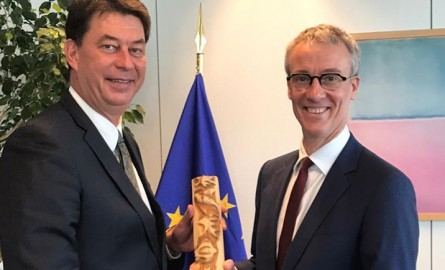 Nouvelle-Calédonie : Thierry Santa à Bruxelles pour le 11ème FED et la place de l'Europe dans le Pacifique après le Brexit