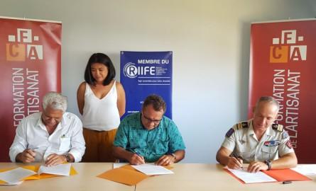 Nouvelle-Calédonie : Le gouvernement, le RSMA et le CMA mettent en place une 1ère formation conjointe