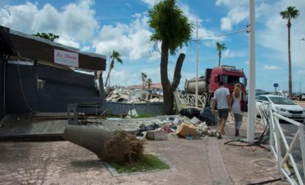 Après Irma : Des blocages à Saint-Martin pour dénoncer le nouveau plan de prévention des risques naturels