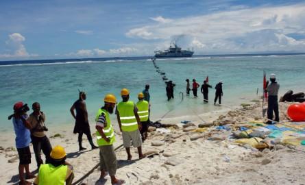 Numérique: Le gouvernement polynésien poursuit ses investissements sur le câble sous-marin Natitua