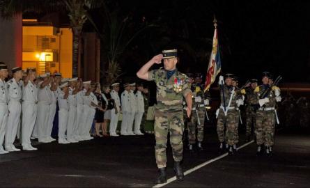 Le Lieutenant-colonel Philippe Boyer-Vidal, premier réunionnais à diriger le RSMA de La Réunion