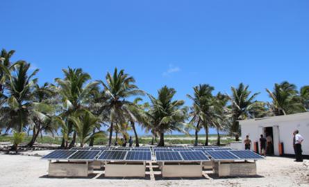 Energies : Les TAAF inaugurent leur première centrale photovoltaïque