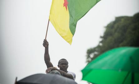 Crise sociale en Guyane: Les discussions ont repris en présence de la presse durant une trentaine de minutes