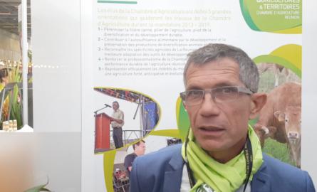 Salon de l'Agriculture 2018: « Notre défi d'aujourd'hui est de garder l'équilibre entre les différentes filières agricoles», Jean-Bernard Gonthier, Président de la Chambre de l'Agriculture de La Réunion