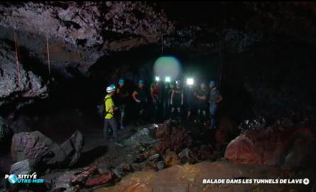 VIDÉO. Positive Outre-mer : À La Réunion, balade dans les tunnels de lave