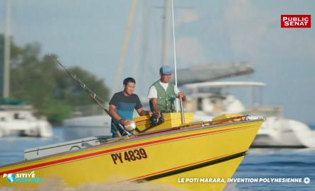 VIDÉO. Positive Outre-mer : Le Poti marara, bateau de pêche 100% polynésien