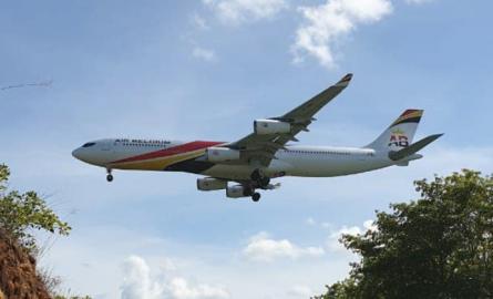 Desserte aérienne: Air Belgium se pose pour la première fois en Martinique