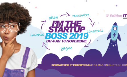 """Innovation en Outre-mer : """"I am the startup Boss"""", le défi création de starts-ups de MartiniqueTech destinés aux étudiants"""
