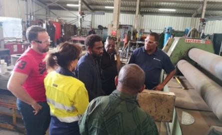 Coopération régionale : Des étudiants du Vanuatu formés à la maintenance industrielle en Nouvelle-Calédonie