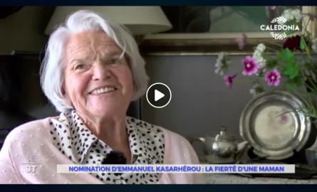 Témoignage ému de la mère d'Emmanuel Kasarhérou, futur Président du musée du Quai Branly à Paris