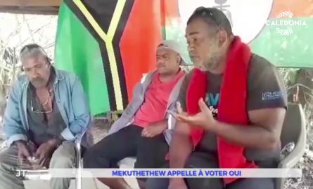 Référendum en Nouvelle-Calédonie : Le jeune parti Mekuthethew appel à la mobilisation pour le OUI à l'indépendance