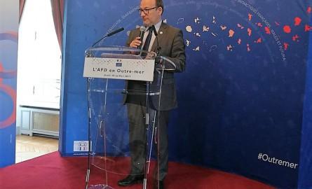 Le Directeur général de l'AFD Rémy Rioux en déplacement aux Antilles