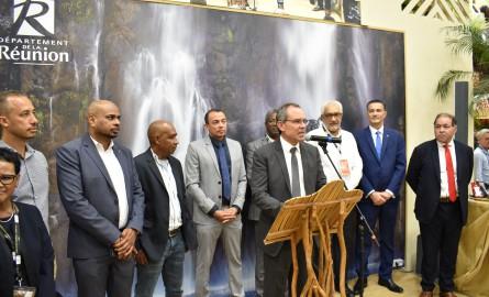 Salon international de l'Agriculture – La Réunion : Serge Hoareau, «Nous avons posé les bases d'une nouvelle agriculture pour notre île »