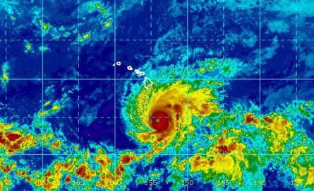 Hawaii : Big Island en alerte, le reste de l'archipel sous surveillance face à l'ouragan Lane