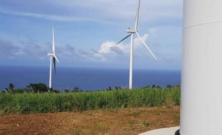 Énergies en Martinique : Un parc éolien inauguré à Grand-Rivière