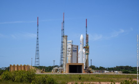 Nouveau report du lancement d'Ariane 5