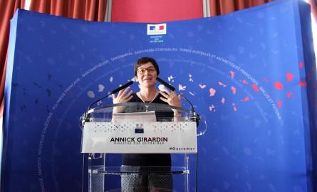 La Ministre des Outre-mer en déplacement à Saint-Pierre et Miquelon