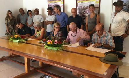 Nouvelle-Calédonie : Sud Forêt signe une convention pour reboiser le foncier privé