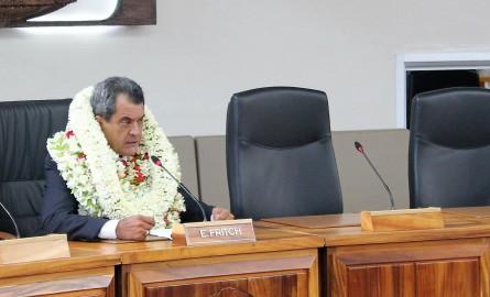 Politique en Polynésie : Edouard Fritch présente un gouvernement en trois « axes »