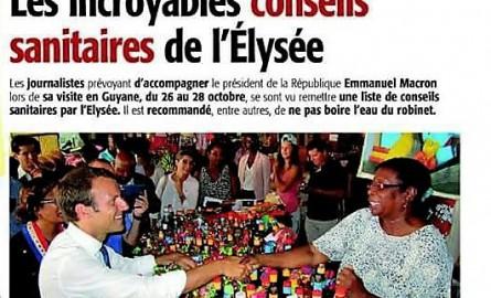 Emmanuel Macron en Guyane : La note qui fait monter la tension