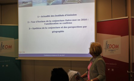 Conjoncture économique des Outre-mer: L'amélioration se confirme en 2016 selon l'IEOM et l'IEDOM