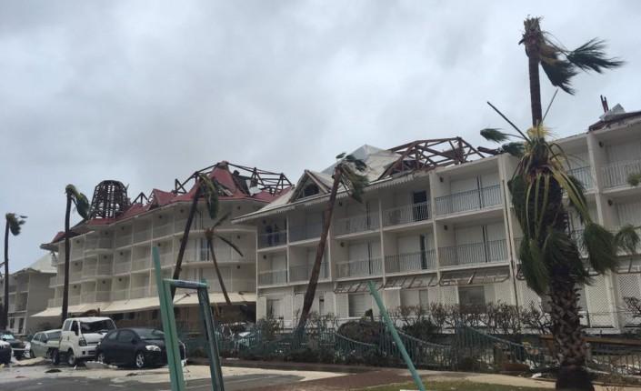 dégâts ouragan irma