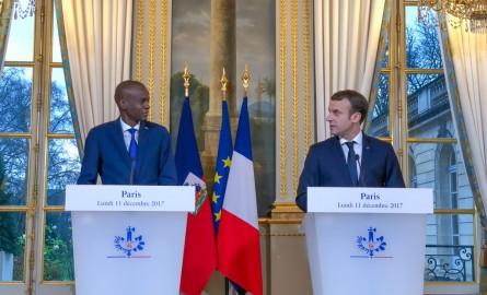 Moïse Jovenel à Paris: Haïti, premier pays à bénéficier du Fonds Vert