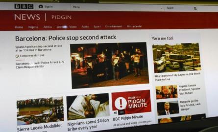 BBC Nigeria lance son 1er site d'information en pidgin