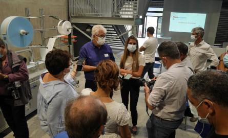 Maskareignes, première usine de fabrication de masques chirurgicaux FFP2 à La Réunion