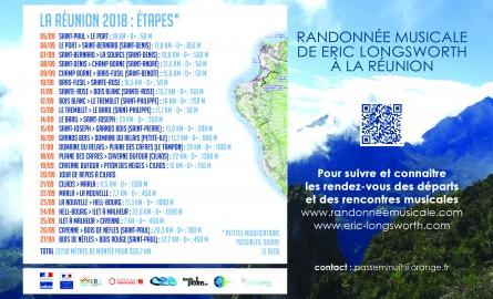 A La Réunion, le violoncelliste Éric Longsworth invite à une randonnée musicale d'un mois
