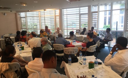 Ateliers des démarches cluster à Mayotte : Une première édition « réussie »